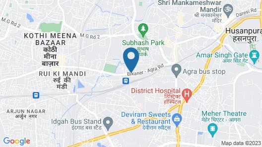 Marc Royal By ASAPIAN Hotels Map