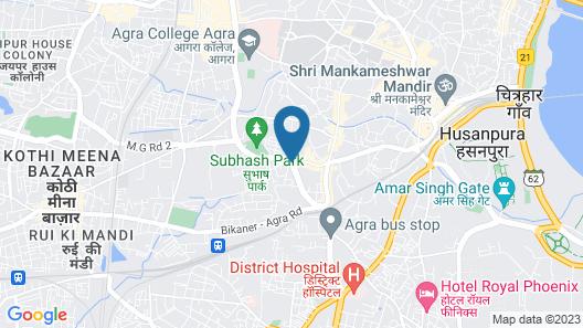 Hotel Moti Palace Map