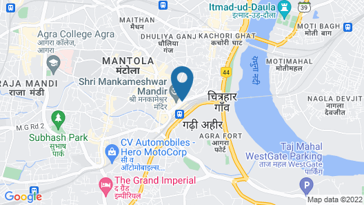 Hotel Ajay International Map
