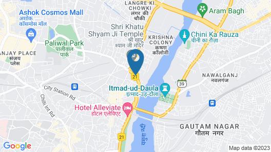 OYO 23595 Hotel Tajway Inn Map