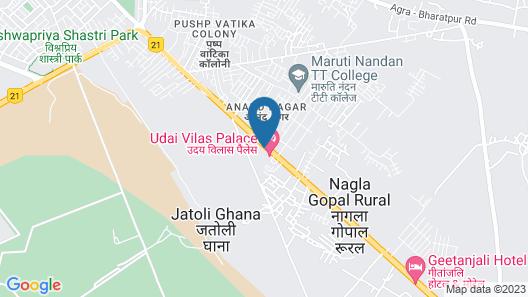 Hotel Shiv Vilas Palace Map