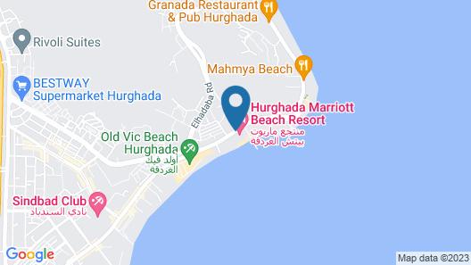 Hurghada Marriott Beach Resort Map