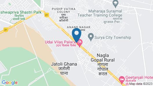 Regenta Resort Bharatpur Map