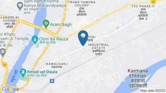 OYO 1493 Hotel Madhushrie Map