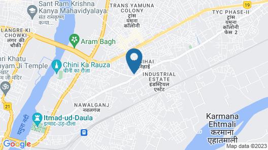 Hotel Madhushrie Map