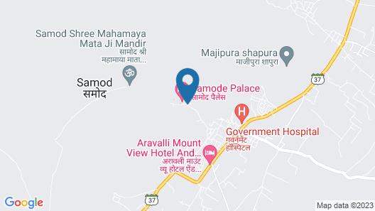 Maharaja Palace Samode Map