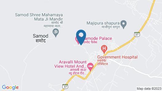 Samode Palace Map