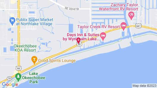 Travelodge Suites by Wyndham Lake Okeechobee Map