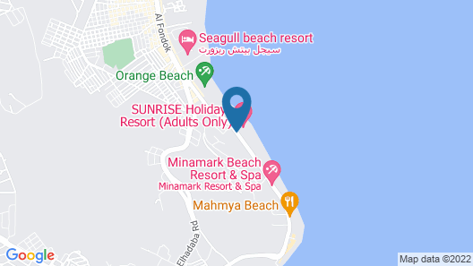 SUNRISE Holidays Resort - Adults Only Map