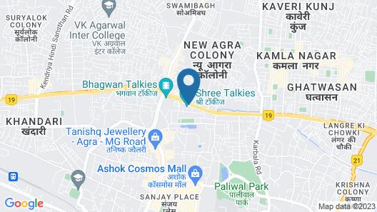 Hotel Shree Residency Map