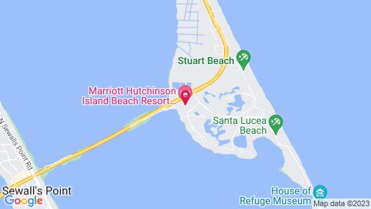Marriott Hutchinson Island Beach Resort, Golf & Marina Map