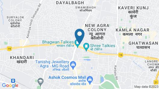 Hotel Neelkanth Map