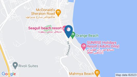 Bella Vista Resort Hurghada - All Inclusive Map
