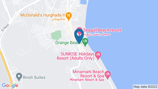 Club Hotel Aqua Fun Hurghada Map