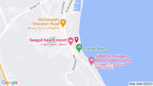 La Rosa Waves Beach Aqua Park Map