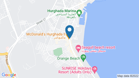 Regina Resort Hurghada Map