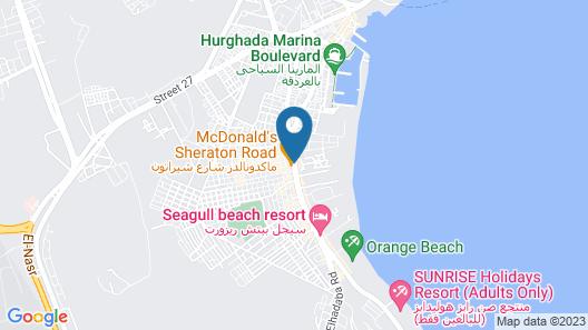 ZYA Regina Resort and Aqua Park Map