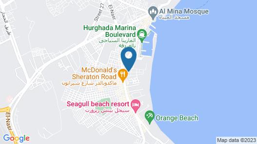 Sheraton Plaza Map