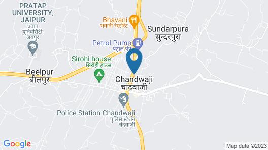 Raw Charm of Nature Tree House Resort /jaipur Map