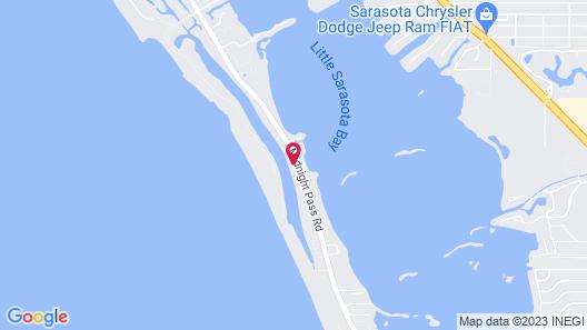 Siesta Key Bungalows Map