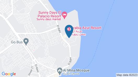 Arabella Azur Resort - All Inclusive Map