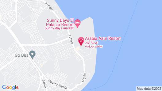 Arabia Azur Resort - All Inclusive Map
