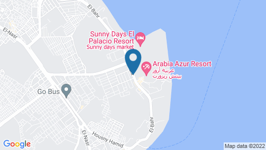Bel Air Azur Resort- Adults only - All Inclusive Map