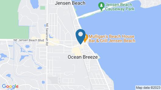 Jensen Beach Inn Map