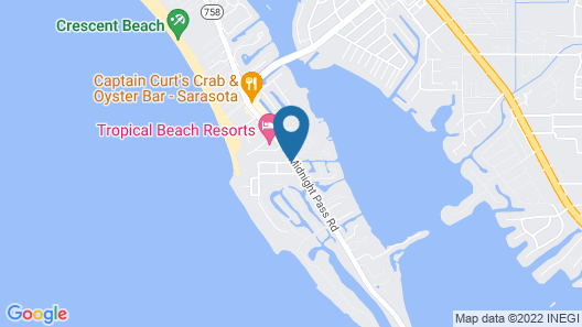 Bianco Sands by Beachside Management Map