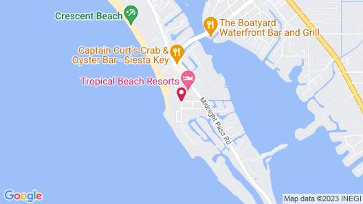 Siesta Sands Beach Resort Map