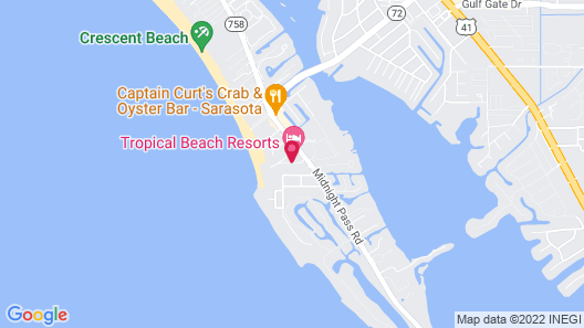 Captiva Beach Resort Map