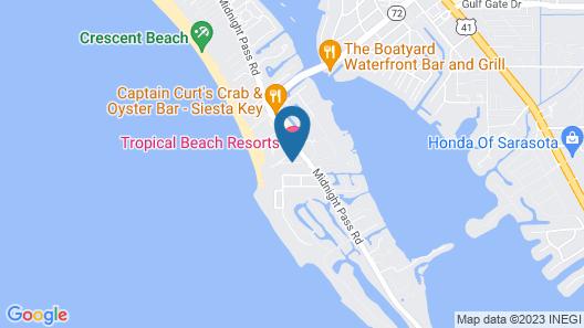 Captiva Beach Resort Map