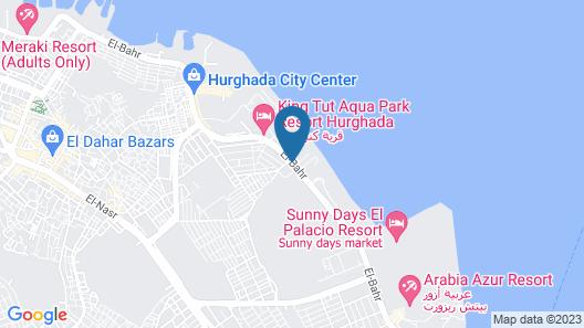 Beirut Hotel Hurghada Map