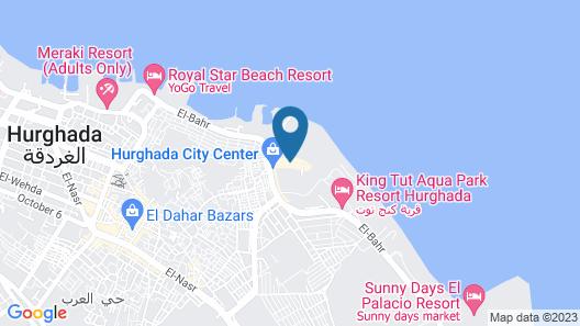Hilton Hurghada Plaza Map