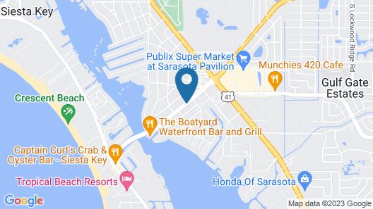 Siesta Key Palms Resort Map