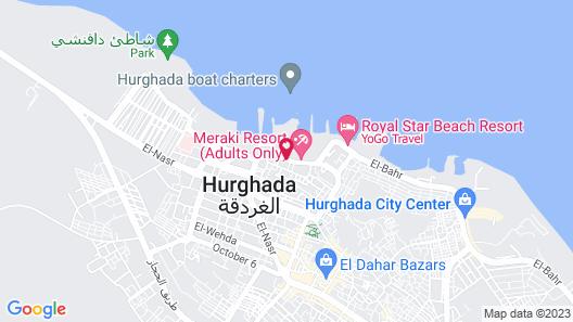 Meraki Resort (Adults Only) Map