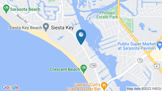 Palm Bay Club by Beachside Management Map