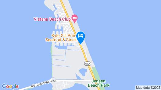 Courtyard by Marriott Hutchinson Island Map