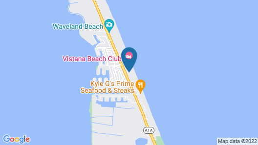 Turtle Reef Club by Capital Vacations Map