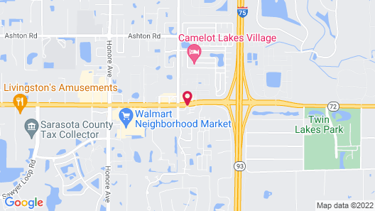 Days Inn by Wyndham Sarasota I-75 Map