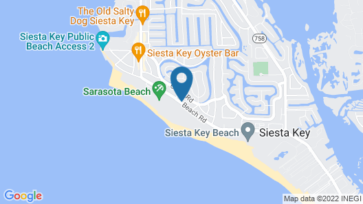 The Ringling Beach House Map