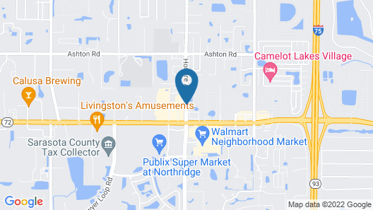 Comfort Suites Sarasota - Siesta Key Map