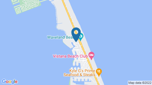 Beach House With Private Saltwater Pool & SPA + Walk TO Beach Map