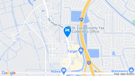 TownePlace Suites by Marriott Port St. Lucie I-95 Map