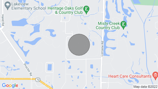 Heritage Oaks Golf & Country Club Map