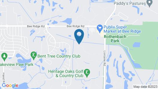 Heritage Oaks 05 - 2 Br Villa Map