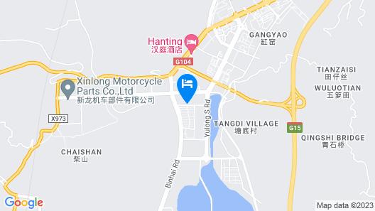 Jinjiang Inn Select Fuding Train Station Map