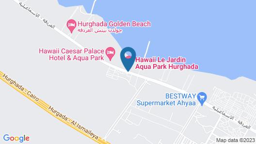 Hawaii Le Jardin Aqua Park Resort (Families & Couples Only) Map