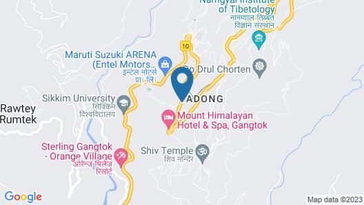 hotel lhasa residency Map