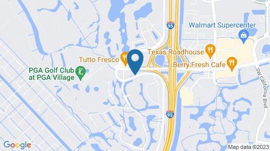 Hilton Garden Inn at PGA Village / Port St. Lucie Map